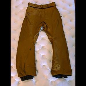 Men's Winter Volcom snowboard ski pants Large